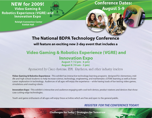 VGRE | National BDPA Technology Conference