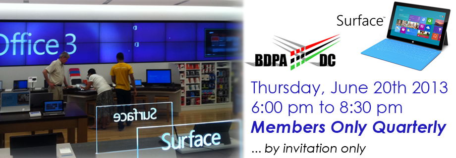 Select here to visit BDPA social media channels.