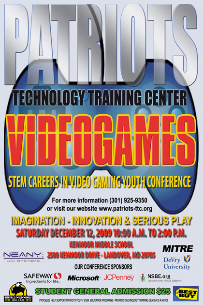 STEM Careers in Video Gaming | Youth Gaming Conference