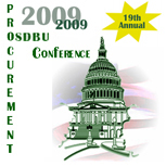 2009 National Procurement Conference